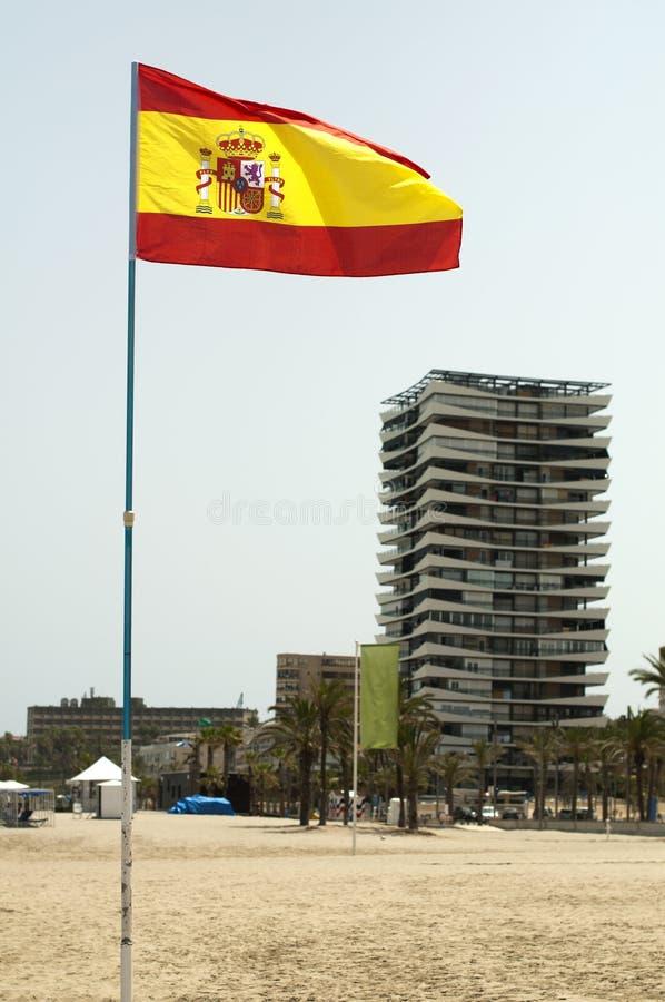 Spanish Coastal Resort Royalty Free Stock Photos