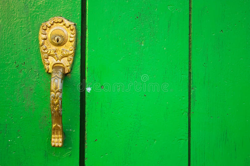 Spanish colonial style door. royalty free stock photos