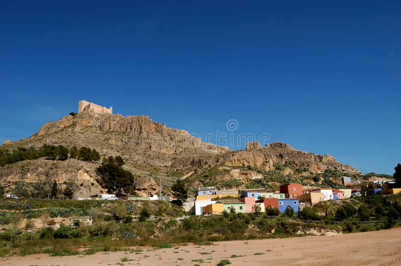 Spanish colors stock photography