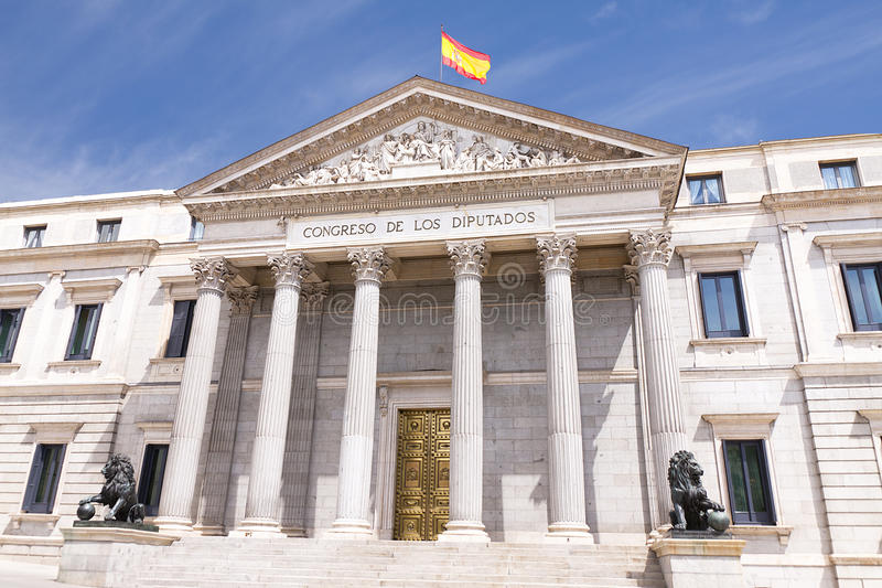 Download Spanish congress stock image. Image of president, capital - 26546747