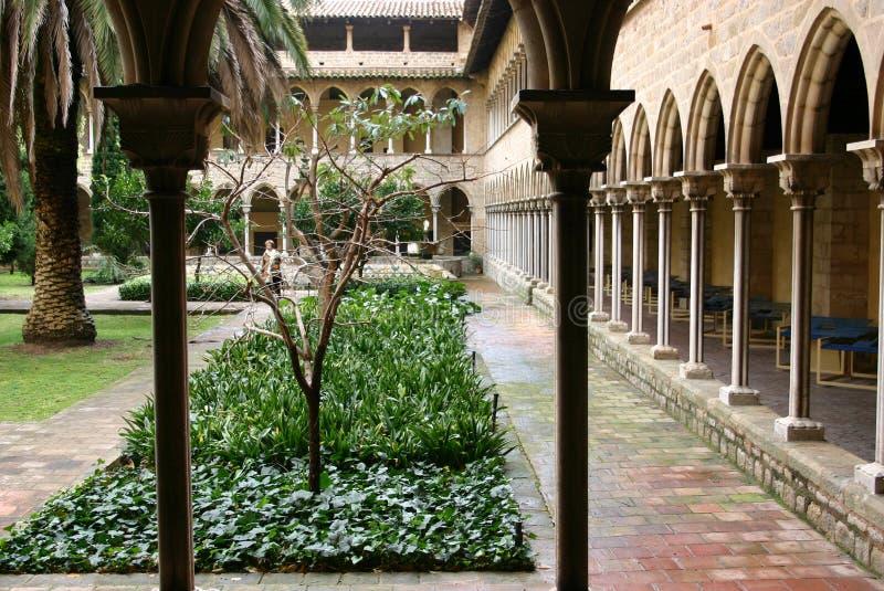 Spanish Courtyard stock image