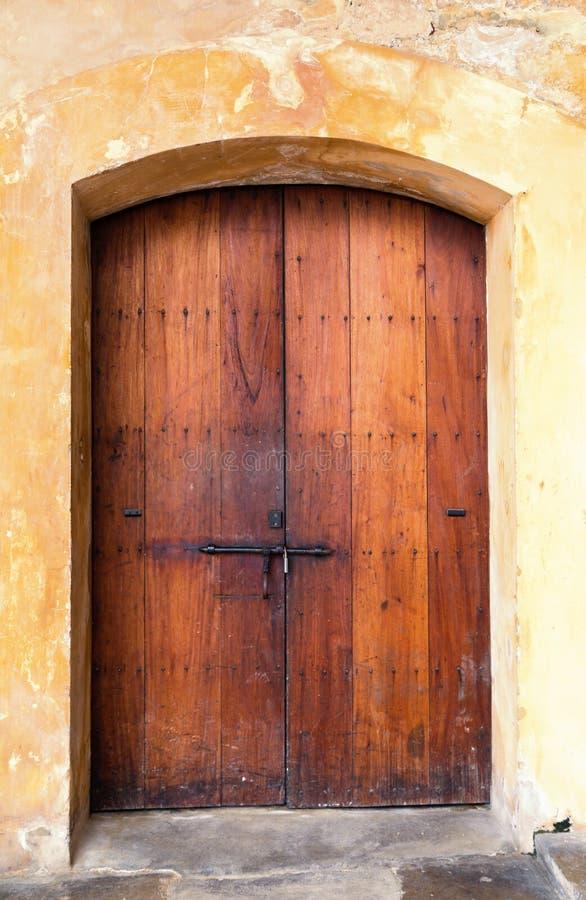 Download Spanish door stock image. Image of knot, exterior, panel - 37064963