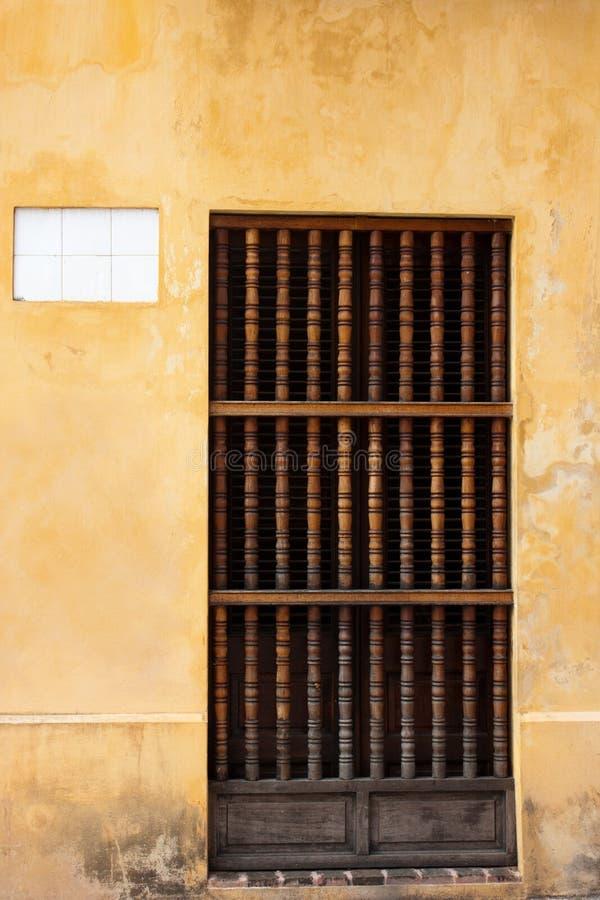 Spanish doorway stock image