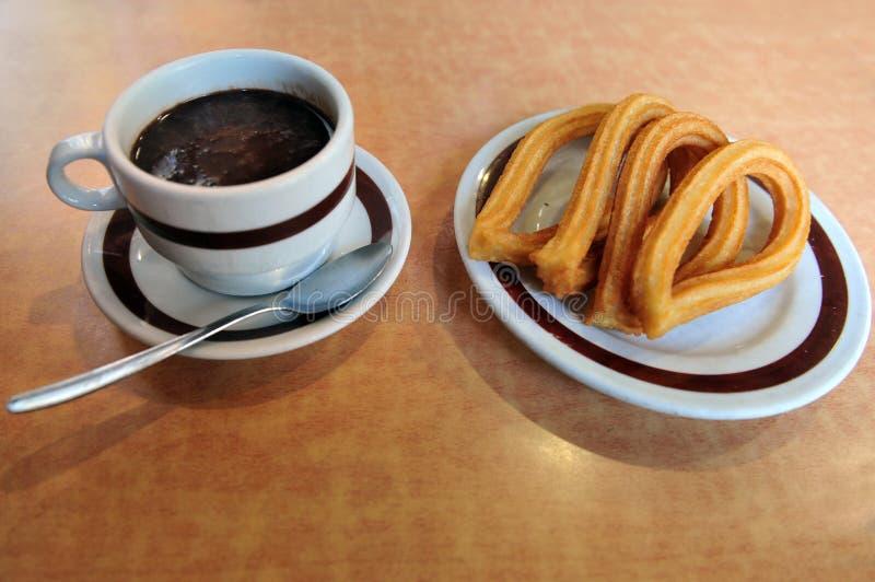 Download Spanish doughnut Churros stock image. Image of chocolate - 25384953