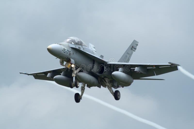 Spanish F-18 Hornet jetfighter