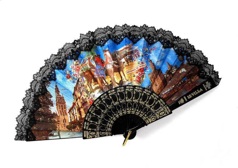 Download Spanish Fan Royalty Free Stock Photography - Image: 11242077