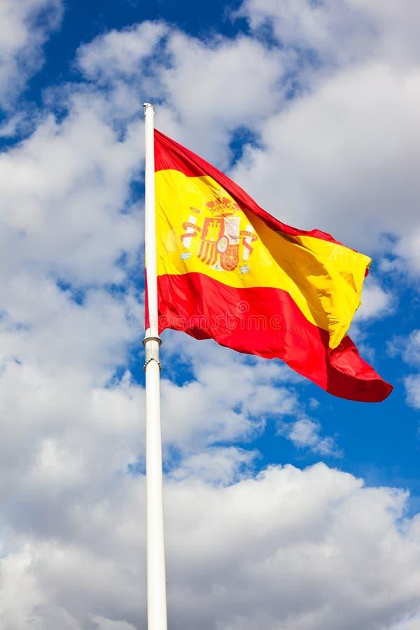 Spanish flag stock images