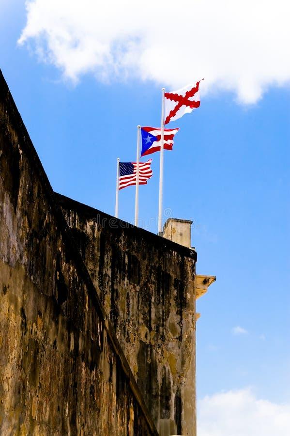 Spanish fort III stock photography