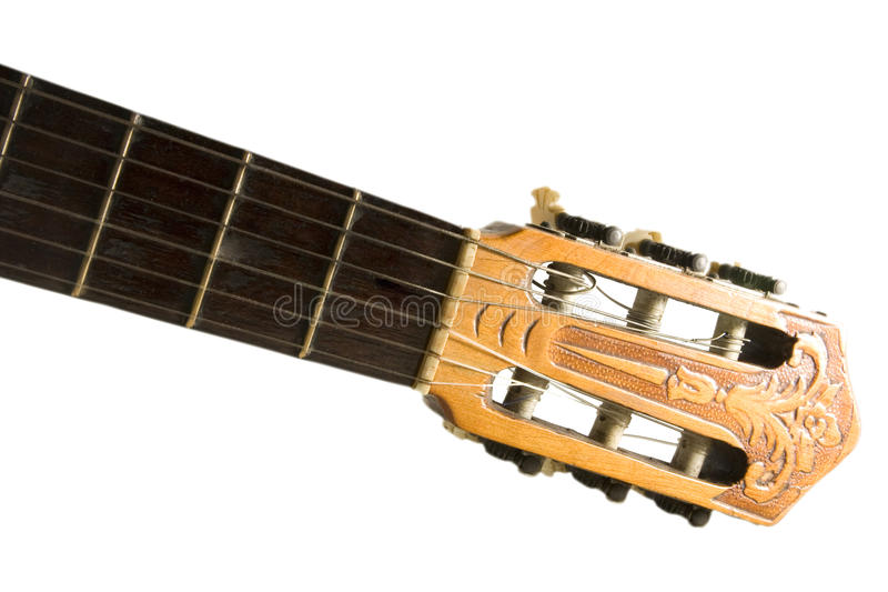 Download Spanish guitar head stock photo. Image of chord, sound - 10986338