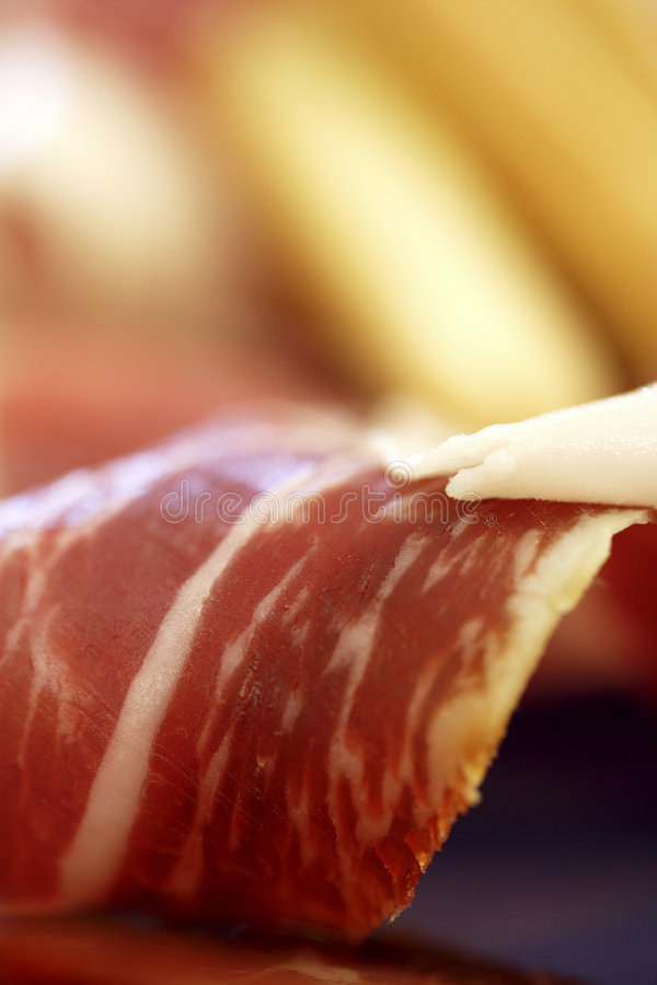 Download Spanish ham stock photo. Image of spanish, serrano, slice - 929904