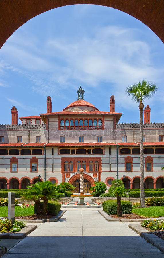 Download Spanish Historical Building St Augustine Florida Stock Photo