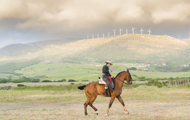A Spanish Horseman Editorial Stock Photo