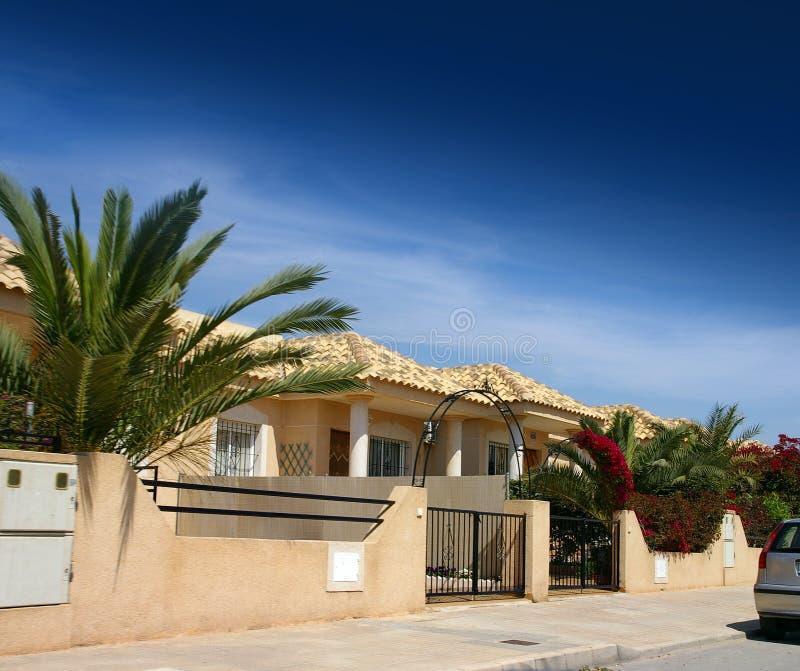 Spanish house royalty free stock photo