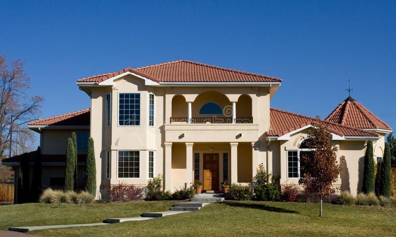 Spanish Luxury Home royalty free stock photos