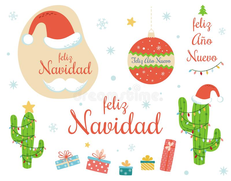 3 Feliz Navidad Snowman Christmas Ornaments//Mexican Holiday Decor//Tree Decoratio