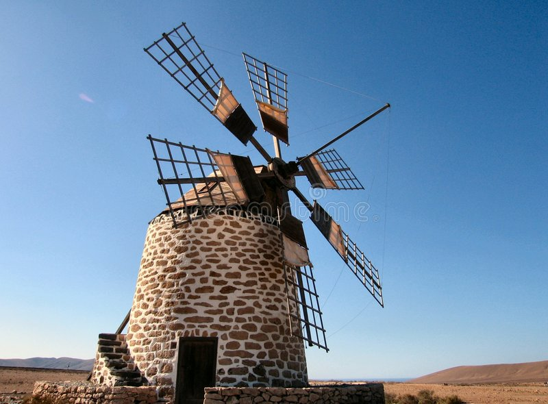 Spanish mill royalty free stock images