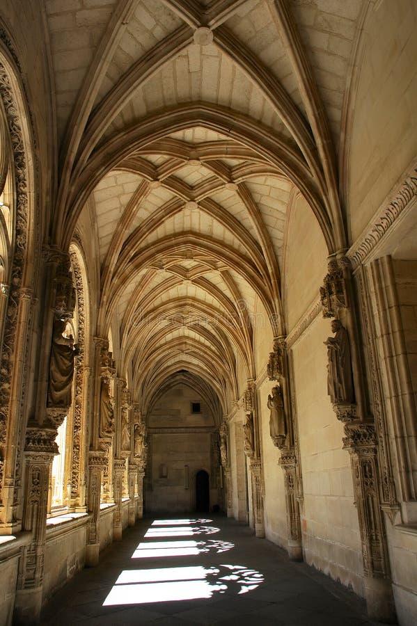 Spanish monastery royalty free stock photography