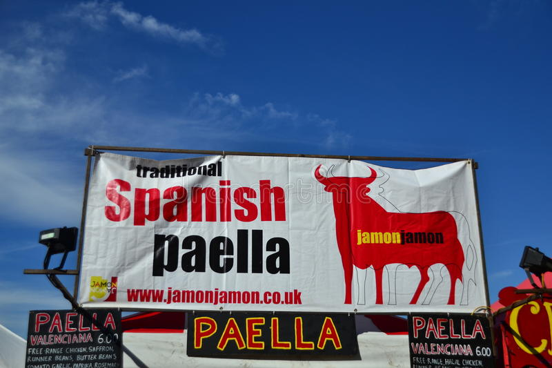 Download Spanish Paella Market Place Editorial Stock Photo - Image: 26515708