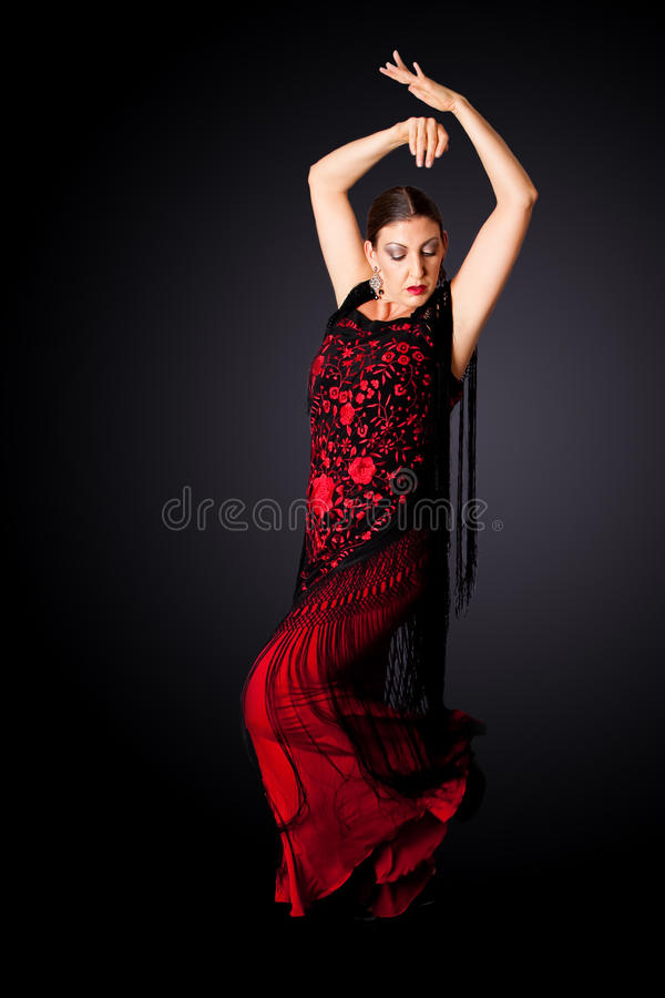 Download Spanish Paso Doble dancer stock image. Image of woman - 11410377