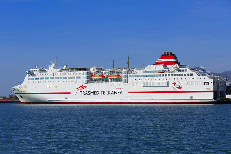 Spanish Passenger Ferry royalty free stock photo