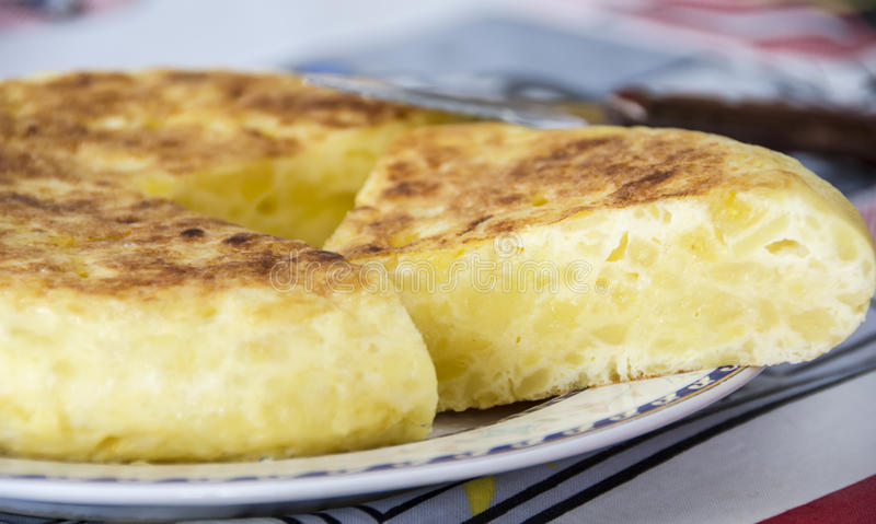 Download Spanish Potato Omelet stock image. Image of meal, gourmet - 26530061