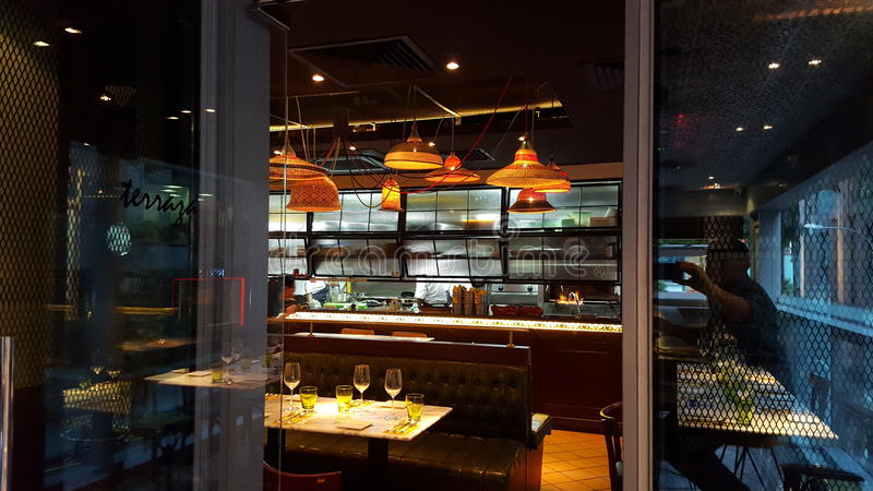 Spanish restaurant royalty free stock image