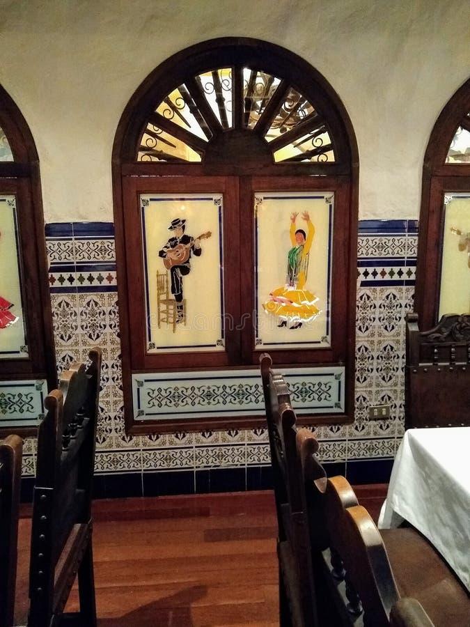 Spanish restaurant known as tasca in Caracas Venezuela, Melia Caracas Hotel stock photo