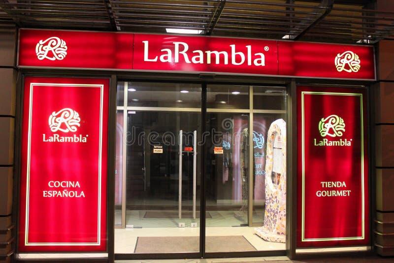 Download Spanish Restaurant- LaRambla Editorial Stock Photo - Image: 34535498