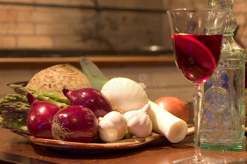 Spanish restaurant still with Sangria stock image