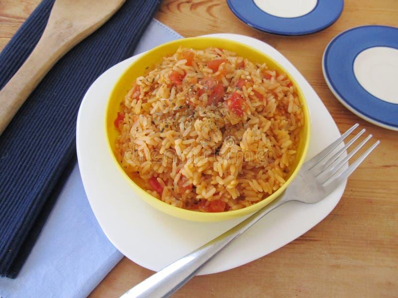 Spanish rice. royalty free stock photo
