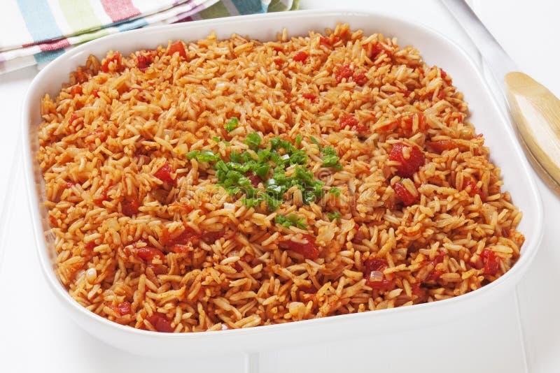 Spanish Rice stock photography