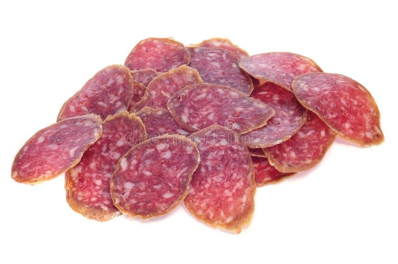 Spanish salchichon royalty free stock photos