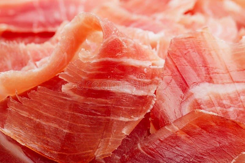 Spanish Serrano Ham Jamon sliced