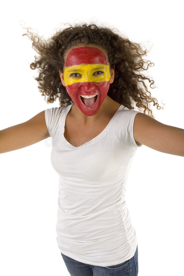 Free Spanish Sports Fan Stock Photo - 3169720
