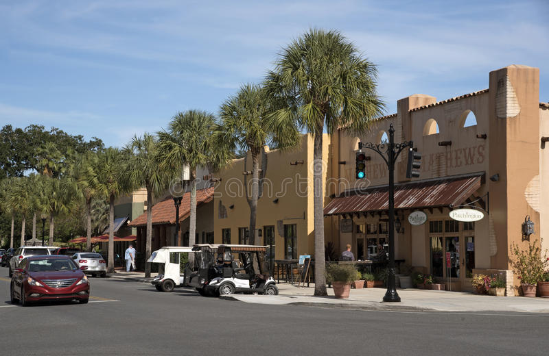 Spanish Springs a small town in Florida USA royalty free stock photography