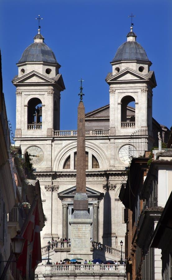 Free Spanish Steps Obelisk Rom Stock Photos - 11158953