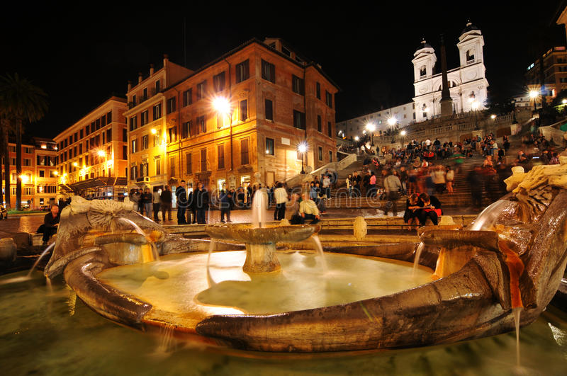 Download Spanish Steps, Rome editorial image. Image of city, staircase - 24795510