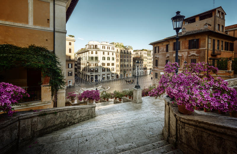 Spanish Steps, Rome, Italy stock images