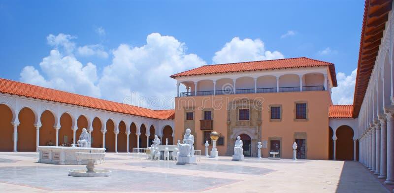 Spanish style architecture royalty free stock photos