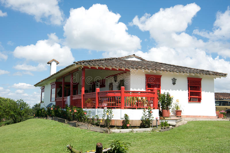 Download Spanish style farm house stock image. Image of cabin - 17815049