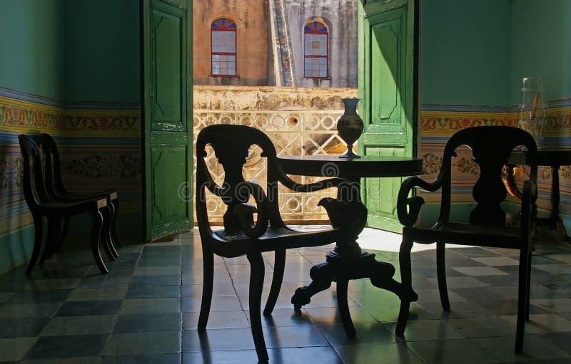 Spanish style room in Cuba