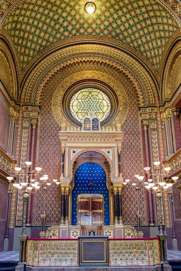 Free Spanish Synagogue In Prague, Czech Republic Stock Photo - 105469220