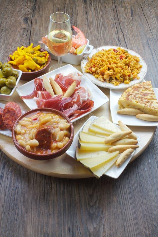 Spanish tapas royalty free stock images
