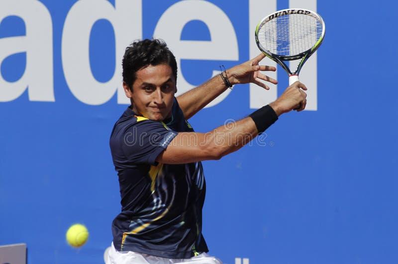 Spanish tennis player Nicolas Almagro stock images