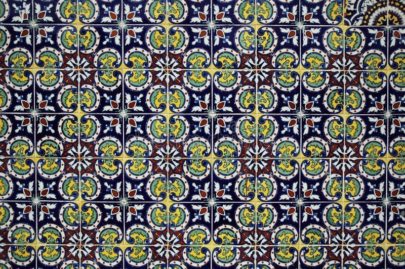 Spanish Tile royalty free stock image