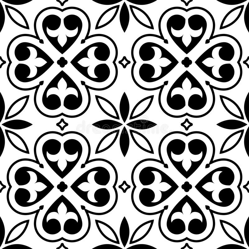 Designer White Abstract Ceramic Wall Tile Pack Of 8 L: Spanish Tiles Pattern, Moroccan OrPortuguese Tile Seamless