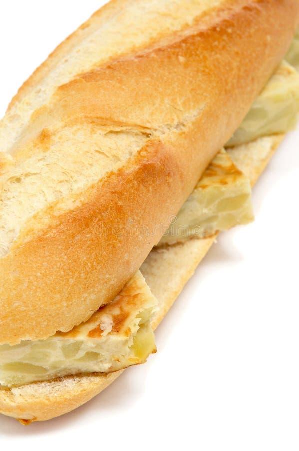 Download Spanish Tortilla De Patatas Sandwich Stock Image - Image: 27542439