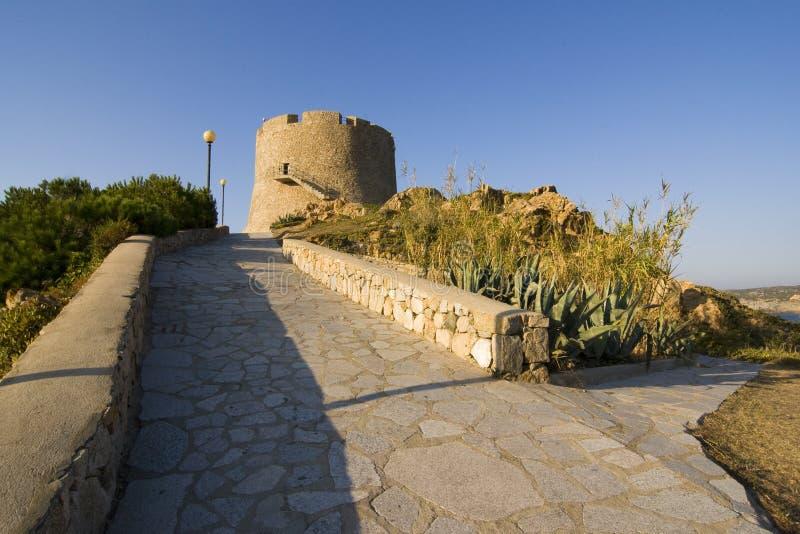 Download Spanish Tower Of St. Teresa, Sardinia, Italy Stock Image - Image: 26793887