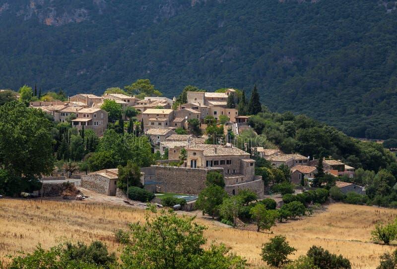Spanish Town royalty free stock photo