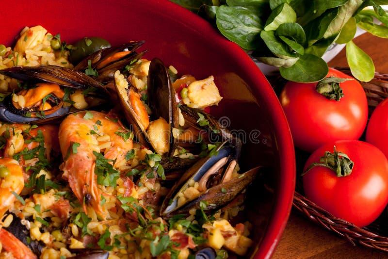 Spanish Traditions - Paella royalty free stock image